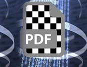 1 Bit TIFF encapsulated data into PDF for Flexo24 plates