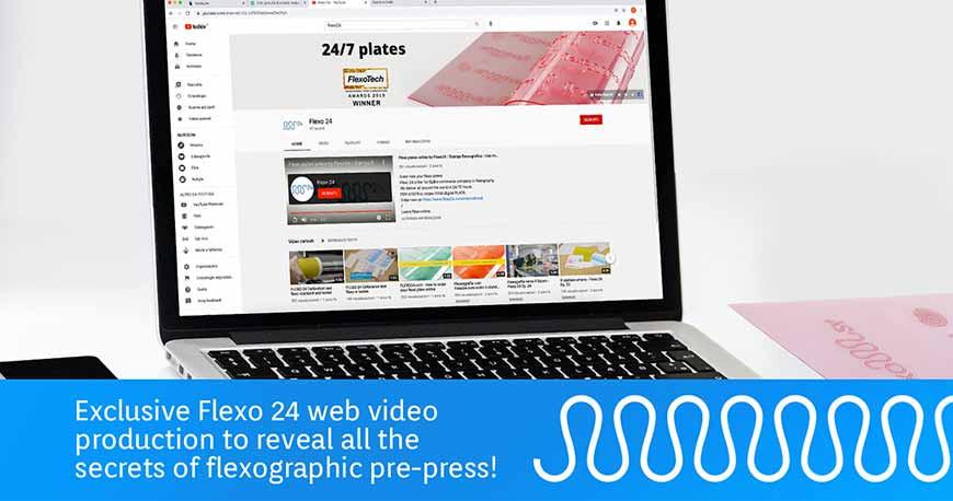 Flexo print revealed: all Flexo 24 videos production!