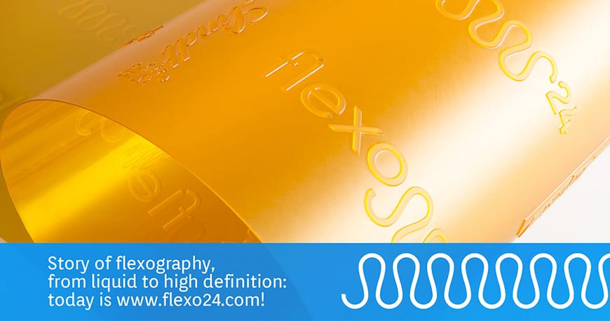 Photopolymer in flexo printing: his history across time