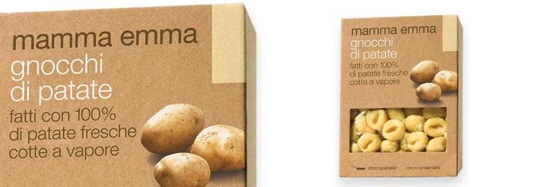 Mamma Emma potato's gnocchi