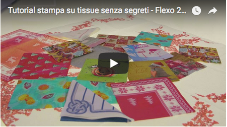 Tutorial stampa su tissue senza segreti - Flexo 24, episodio 16.