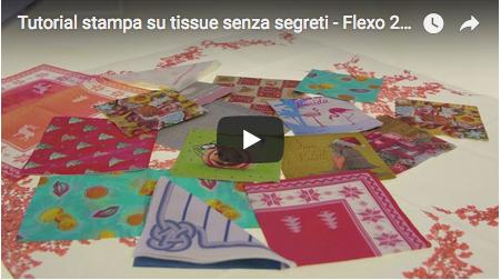 Tutorial stampa su tissue senza segreti - Flexo 24, episodio 16.
