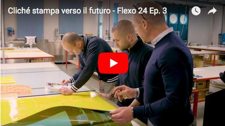 Cliché stampa verso il futuro - Flexo 24, episodio 3.