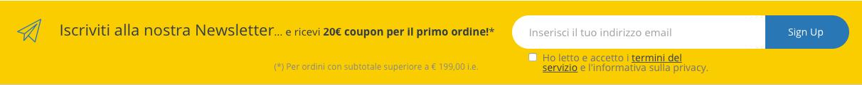 Il cliché Flexo 24 è adatto a tutte le soluzione di packaging sostenibile. Iscriviti per ricevere € 20,00 di sconto.