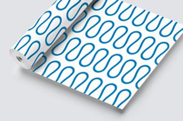 Esempio stampato su carta o cartoncino