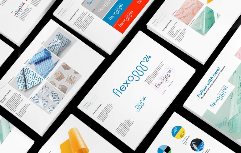Il brand Flexo 24 è strutturato dalle linee guida