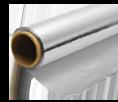 Aluminium, coated or adhesive paper