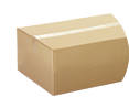 Cardboard and textile packaging